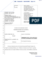 Apple Computer, Inc. v. Podfitness, Inc. - Document No. 36