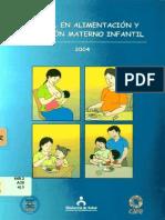 Care - Manual de Alimentación y Nutrición Materno Infantil