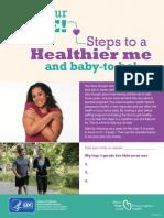 Healthier Baby Me Plan