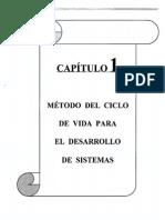 Metodo del  Ciclo de Vida para el diseño de sistemas