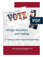 Student Voting Report