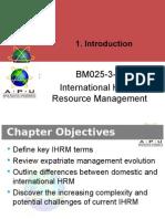 Chapter 3 International Human Resource Management