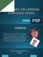 Lesiones en Lengua