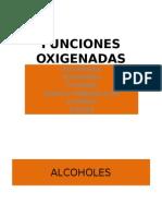 FUNCIONES ORGANICAS OXIGENADAS