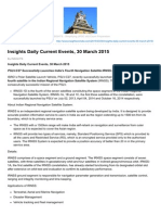 Insightsonindia.com-Insights Daily Current Events 30 March 2015
