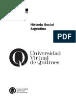 Romero Luis Alberto, Historia Social Argentina