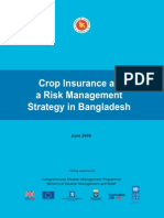 Crop Insurance as a Risk Management Strategy in Bangladesh - 2009