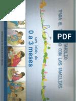 Rotafolio Trabajo Familias 0 a 3 Meses