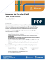 Dissolved Air Floatation Daf