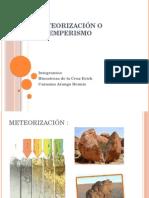 Meteorización o Intemperismo GEOLOGIA GENERAL