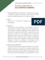 Normas Para La Elaboracion de Los Articulos Cientificos (1)