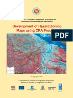 Development of Hazard Zoning Maps Using CRA Process - 2008