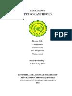 Cover Perforasi Tifoid