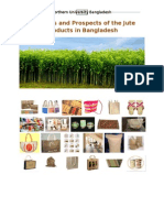 Problems and Prospects of the Jute Product in Bangladesh