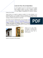 Álbum Ilustrado de La Vida y Obra de Simón Bolívar