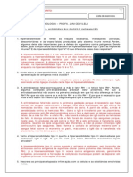 5 - Hipersensibilidades e inflamação - Gabarito
