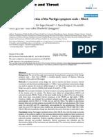 Vertigo Sympton Scale