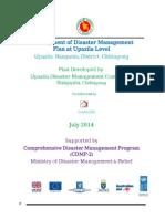 DM Plan Rangunia Upazila Chittagong District_English Version-2014