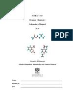 CHEM1102 Labbook
