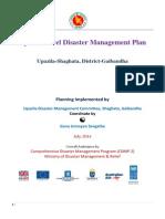 DM Plan Shaghata Upazila Gaibandha District_English Version-2014