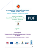 DM Plan Sitakunda Upazila Chittangong District_English Version-2014