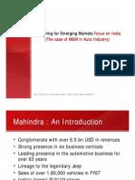 Mahindra Case