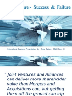 Joint Ventures - Key Success Factors