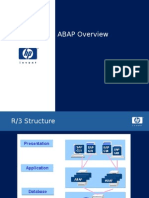 2 ABAP Language Overview and Workbench Concepts and Tools