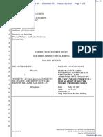 The Facebook, Inc. v. Connectu, LLC et al - Document No. 53