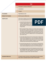 Derivatives Commodity Derivatives FGLD Specification English