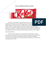Marketing Communications of Kitkat