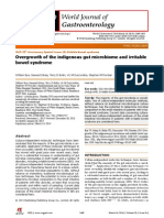 WorldJGastroenterol.20(2014)2449 Overgrowth of the Indigenous Gut Microbiome