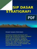 Prinsip Dasar Stratigrafi
