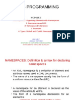 XML NAMESPACE