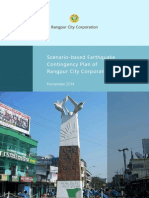 Earthquake Contingency Plan of Rangpur City Corporation Area