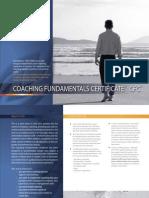 Coach Fundamentals Cert