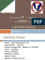 148814311 Laporan Kasus KOLELITIASIS Pptx