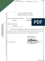 National Federation of the Blind et al v. Target Corporation - Document No. 120