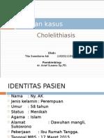 Laporan Kasus KOLELITIASIS Tita Pptx