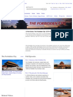 The Forbidden City, CCTV-9 Documentary English