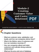 customer value and relation