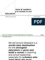 TLE FY16BudgetRequest Deck DRAFT