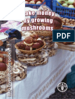 make money by growing mushroom