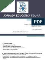 Jornada Educativa TEA-AF Centro Cultural Vallisoletano (1)
