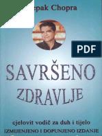 Deepak Chopra - Savrseno zdravlje.pdf