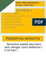 Resiko Tinggi Pada Neonatus