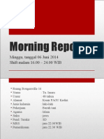 Morning Report HNP