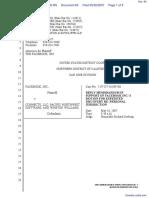 The Facebook, Inc. v. Connectu, LLC et al - Document No. 60