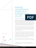 Making Advertising More of a Science Than an Art