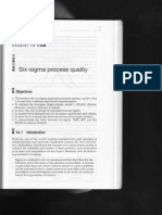 Six-sigma Process Quality